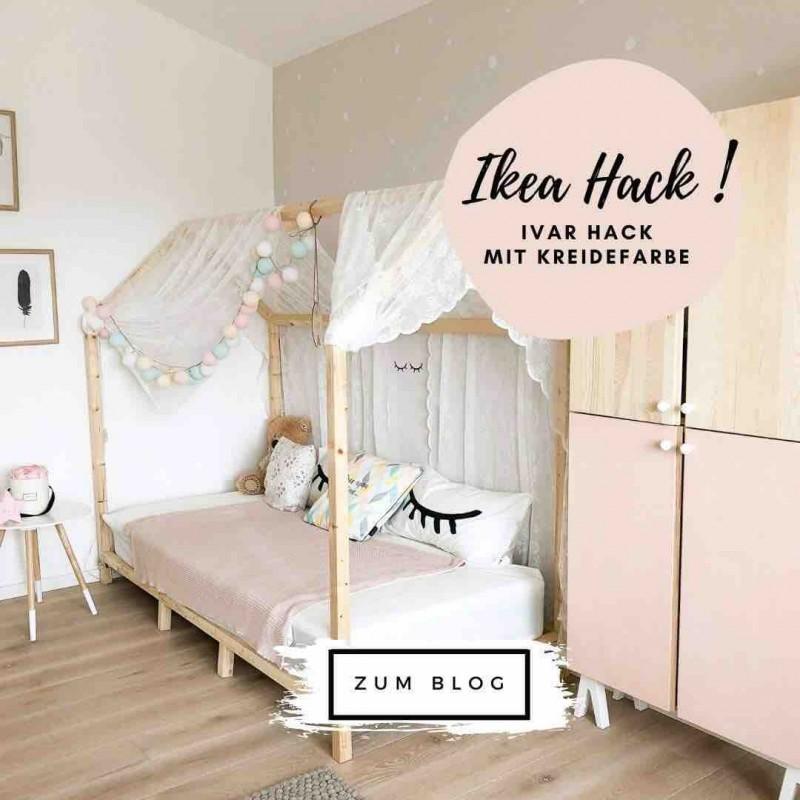 Ikea Ivar Hack mit Kreidefarbe