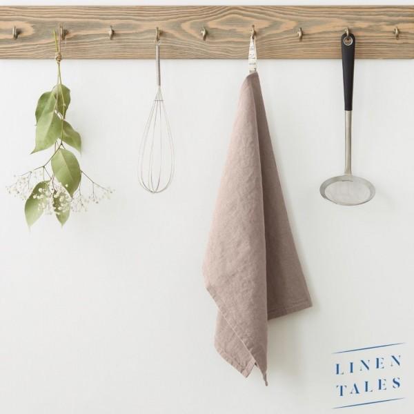 Leinen Geschirrtuch | Rosé | Küche | Linentales