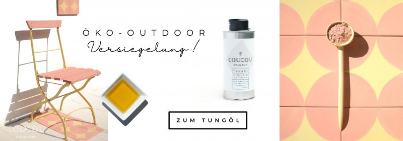 Outdoor Kreidefarbe Oeko Versiegeln Coucou Couleur