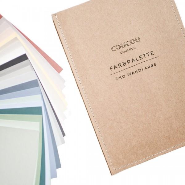 Farbkarte Wandfarbe | handgemalt