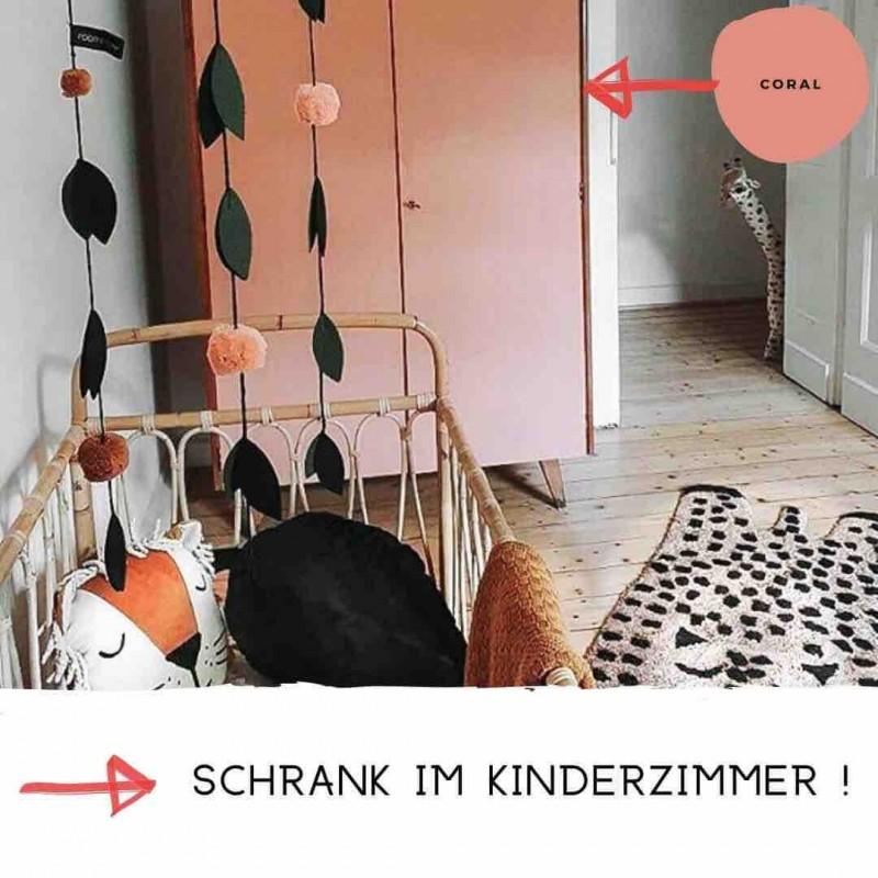 Kreidefarbe Schrank Kinderzimmer