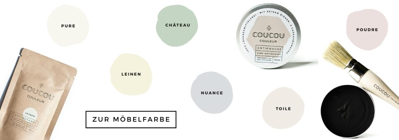Brocante-Stil-Shabby-Vintage-Coucou-Couleur-Kreidefarbe-milkpaint