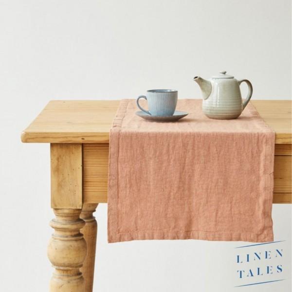 Leinen | Tischläufer | Café Creme | Linentales