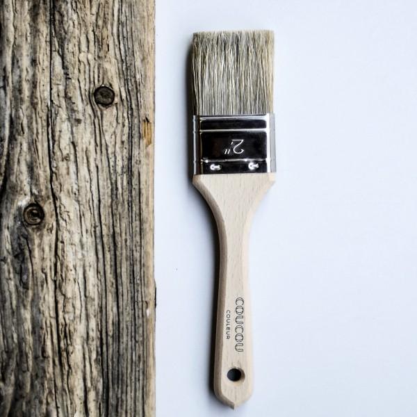 Kleiner Pinsel für Wandfarbe