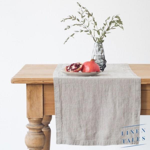 Leinen | Tischläufer | NATURAL | Linentales