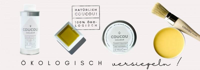 Moebelwachs Moebeloel Oeko Versiegelung Coucou Couleur Kreidefarbe