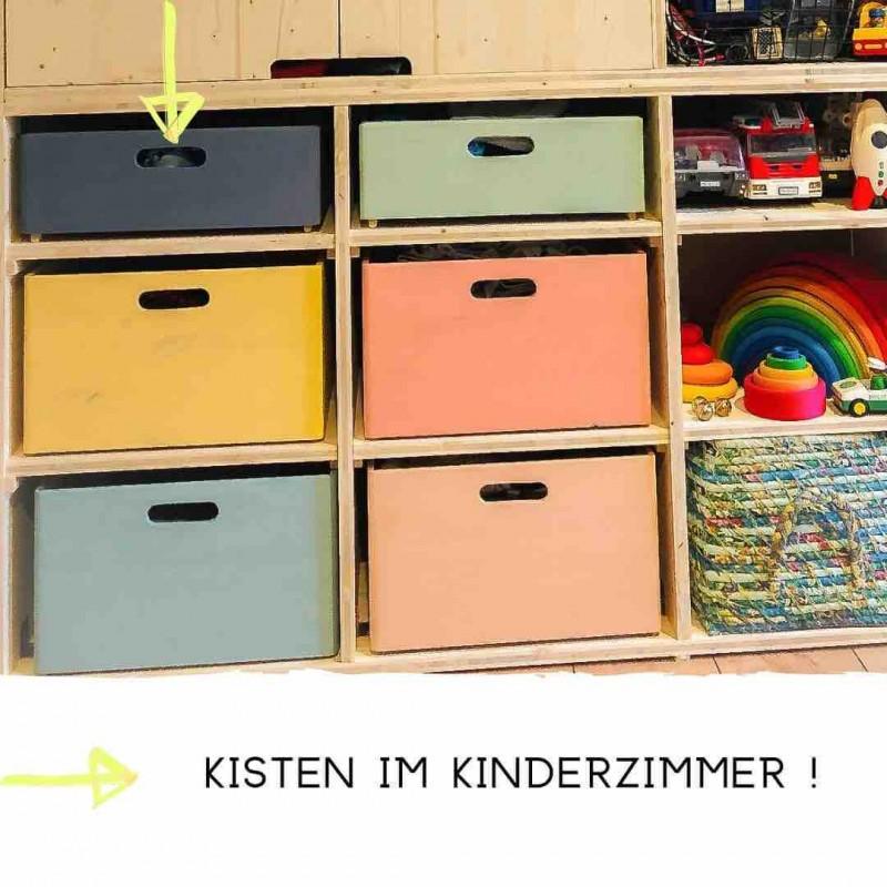 Kreidefarbe Aufbewahrung Kinderzimmer