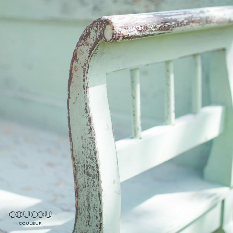 Shabby Gartenmöbel mit Kreidefarbe | Möbel streichen | Coucou Couleur