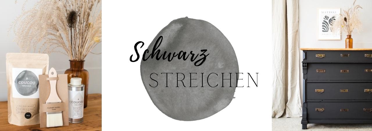 Kommode-streichen-Coucou-Couleur-Kreidefarbe-Schwarz