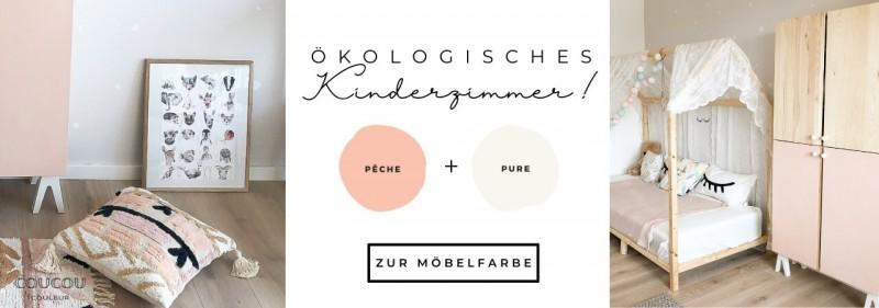 Gesundes Kinderzimmer Ikea Ivar Hack Coucou Couleur Oeko Kreidefarbe